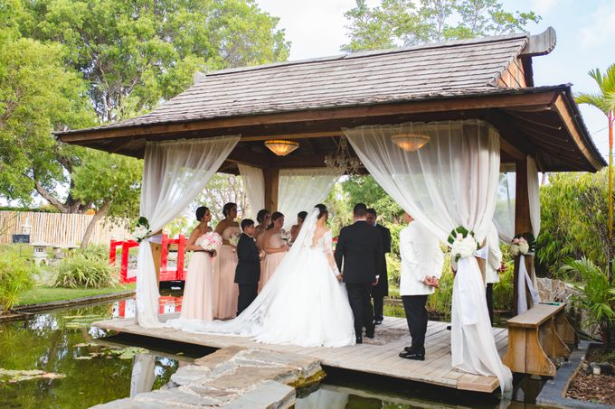 Local wedding at a winery shop by Weddings by AMR - 006