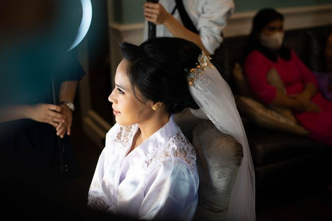 Andry + Mia Wedding by MRS Makeup & Bridal - 002