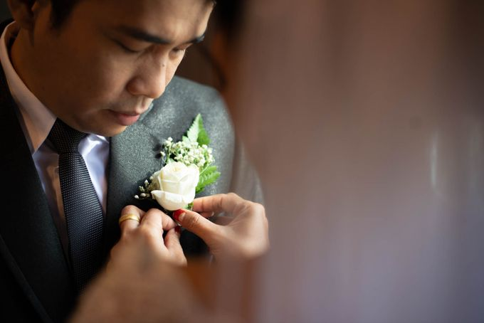 Andry + Mia Wedding by MRS Makeup & Bridal - 005