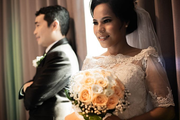 Andry + Mia Wedding by MRS Makeup & Bridal - 009