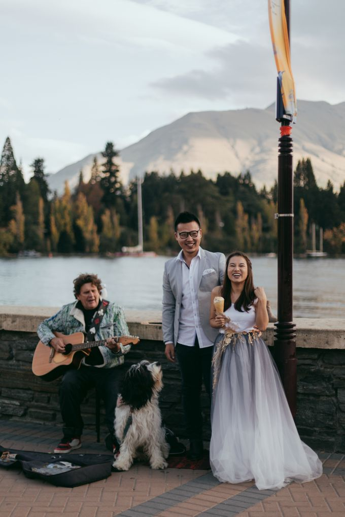 Magnificent New Zealand Prewedding of Amy & Kevin by fire, wood & earth - 028