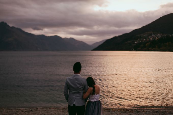 Magnificent New Zealand Prewedding of Amy & Kevin by fire, wood & earth - 031