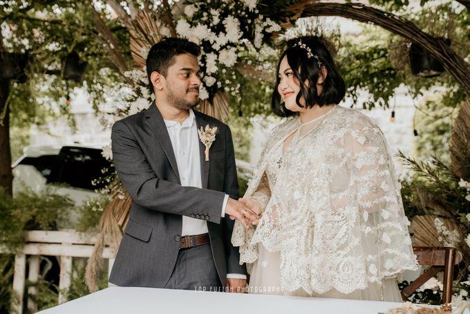 Restaurant Simple Wedding by Top Fusion Wedding - 002