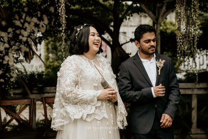 Restaurant Simple Wedding by Top Fusion Wedding - 001