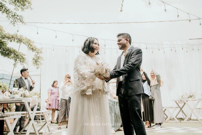 Restaurant Simple Wedding by Top Fusion Wedding - 005