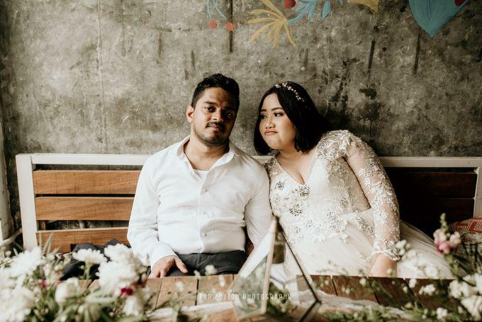 Restaurant Simple Wedding by Top Fusion Wedding - 004