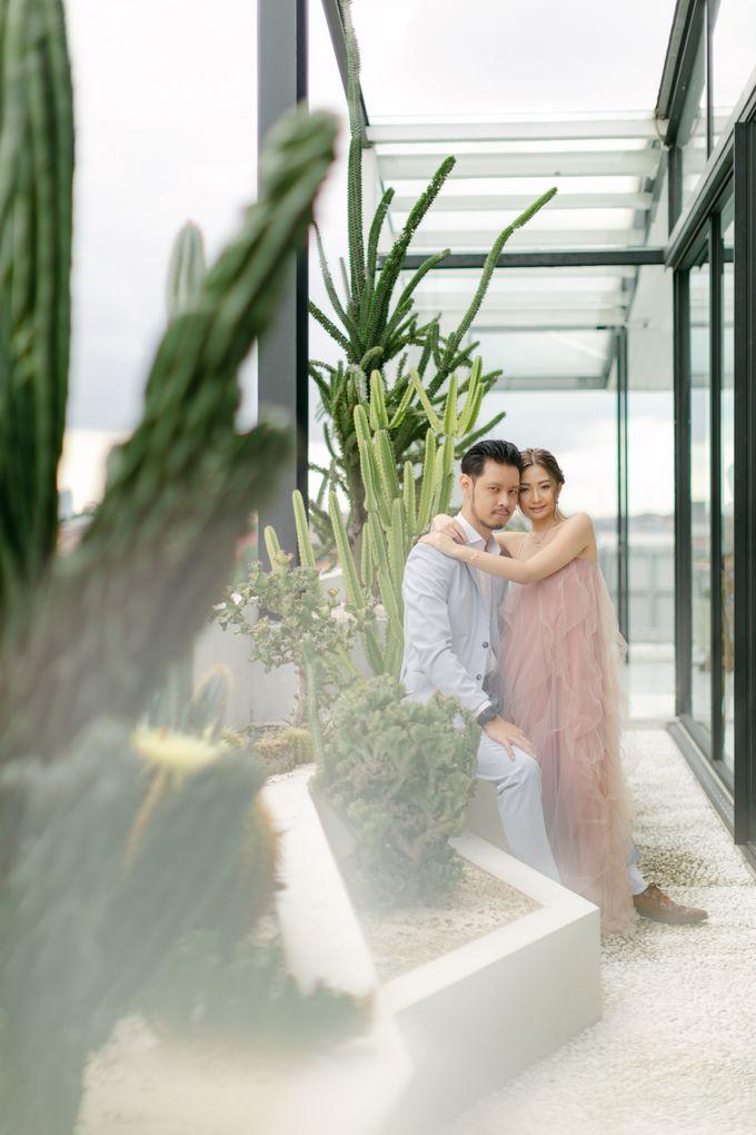 Engagement : Anastassia & Michael by CARA wedding - 008