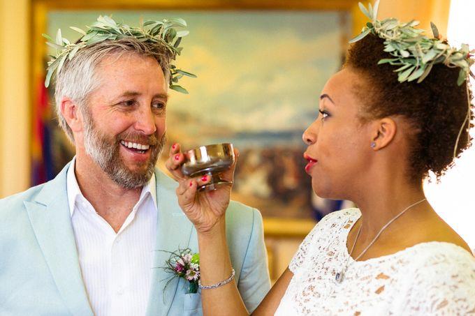 An Afro American wedding in Greece by MarrymeinGreece - 003