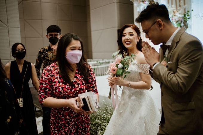Marsha & Andi Wedding at Neo Soho Jakarta by AKSA Creative - 007