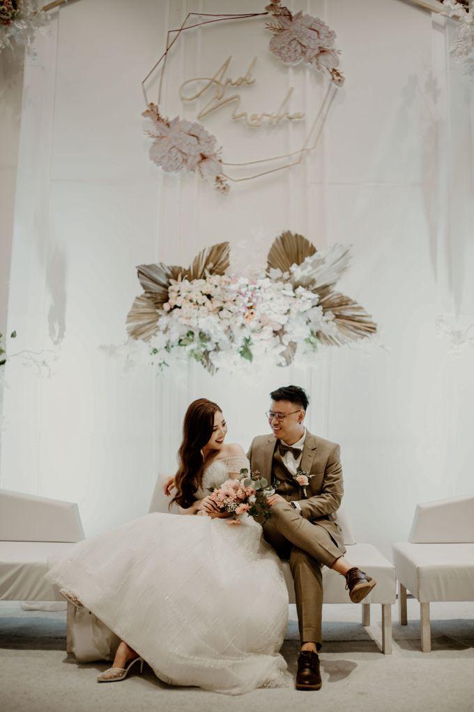 Marsha & Andi Wedding at Neo Soho Jakarta by AKSA Creative - 004