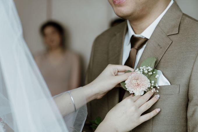 Marsha & Andi Wedding at Neo Soho Jakarta by AKSA Creative - 041