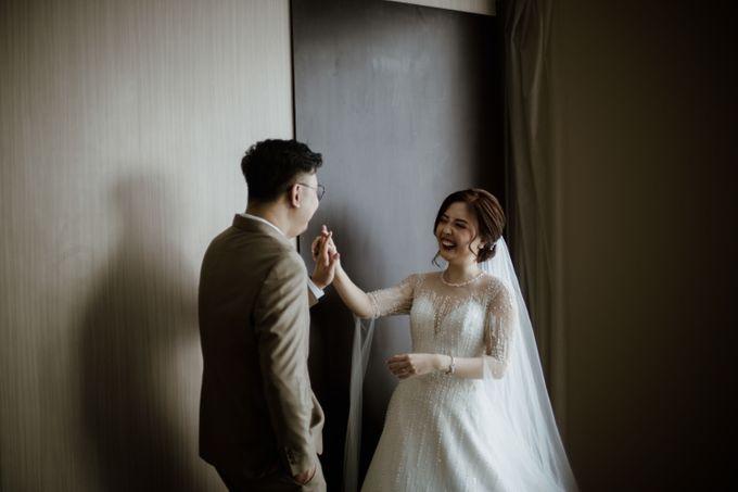Marsha & Andi Wedding at Neo Soho Jakarta by AKSA Creative - 039