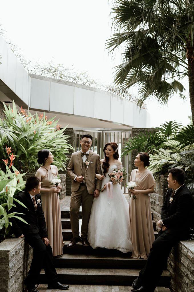 Marsha & Andi Wedding at Neo Soho Jakarta by AKSA Creative - 033