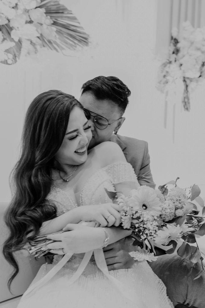 Marsha & Andi Wedding at Neo Soho Jakarta by AKSA Creative - 018