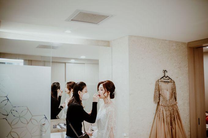 Marsha & Andi Wedding at Neo Soho Jakarta by AKSA Creative - 027