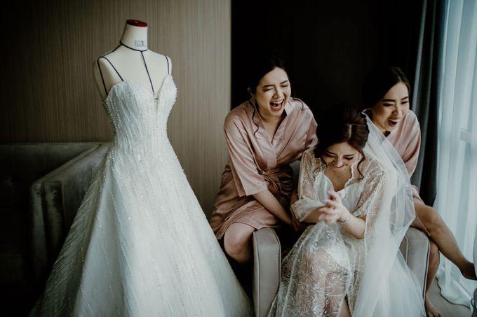 Marsha & Andi Wedding at Neo Soho Jakarta by AKSA Creative - 024