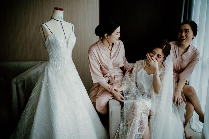 Marsha & Andi Wedding at Neo Soho Jakarta by AKSA Creative - 023