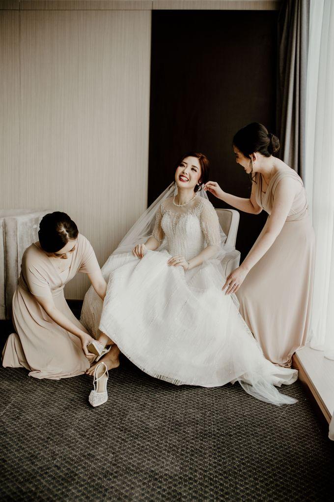 Marsha & Andi Wedding at Neo Soho Jakarta by AKSA Creative - 016