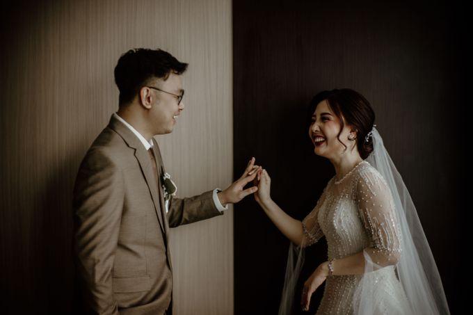 Marsha & Andi Wedding at Neo Soho Jakarta by AKSA Creative - 008