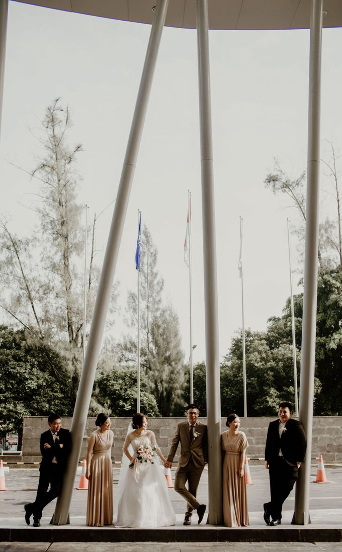 Marsha & Andi Wedding at Neo Soho Jakarta by AKSA Creative - 009
