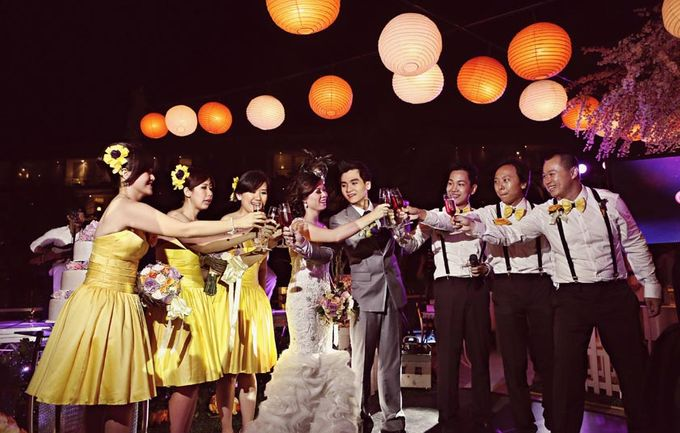 Andika and Vony's Wedding by Bali Wedding Planner - 009