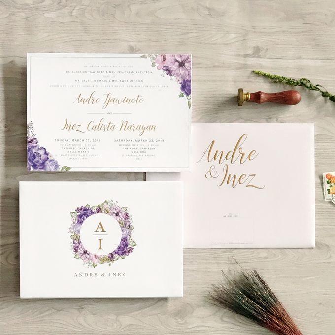 Andre & Inez by Meltiq Invitation - 004