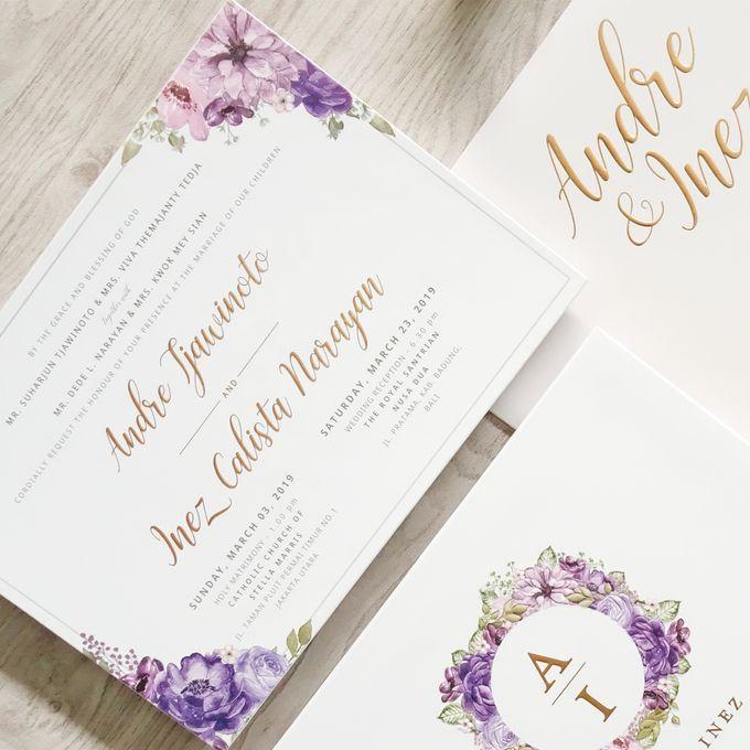 Andre & Inez by Meltiq Invitation - 002