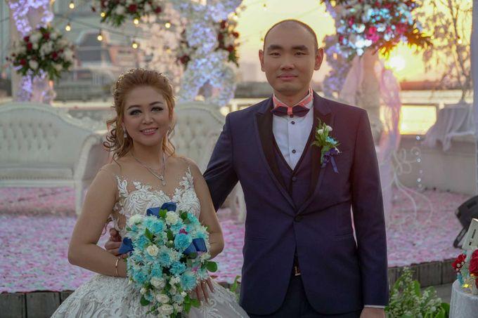Wedding Day of Andre & Maria by D'banquet Pantai Mutiara - 001