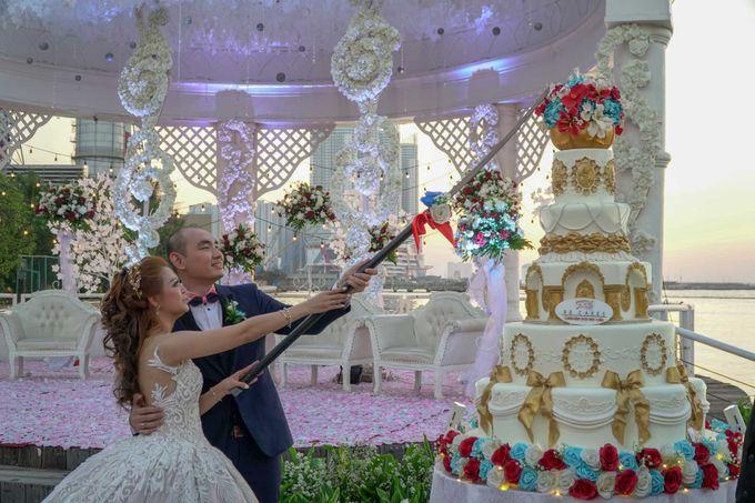 Wedding Day of Andre & Maria by D'banquet Pantai Mutiara - 002