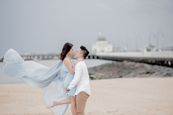 Melbourne Prewedding of Andre & Jeane by Kairos Works - 004