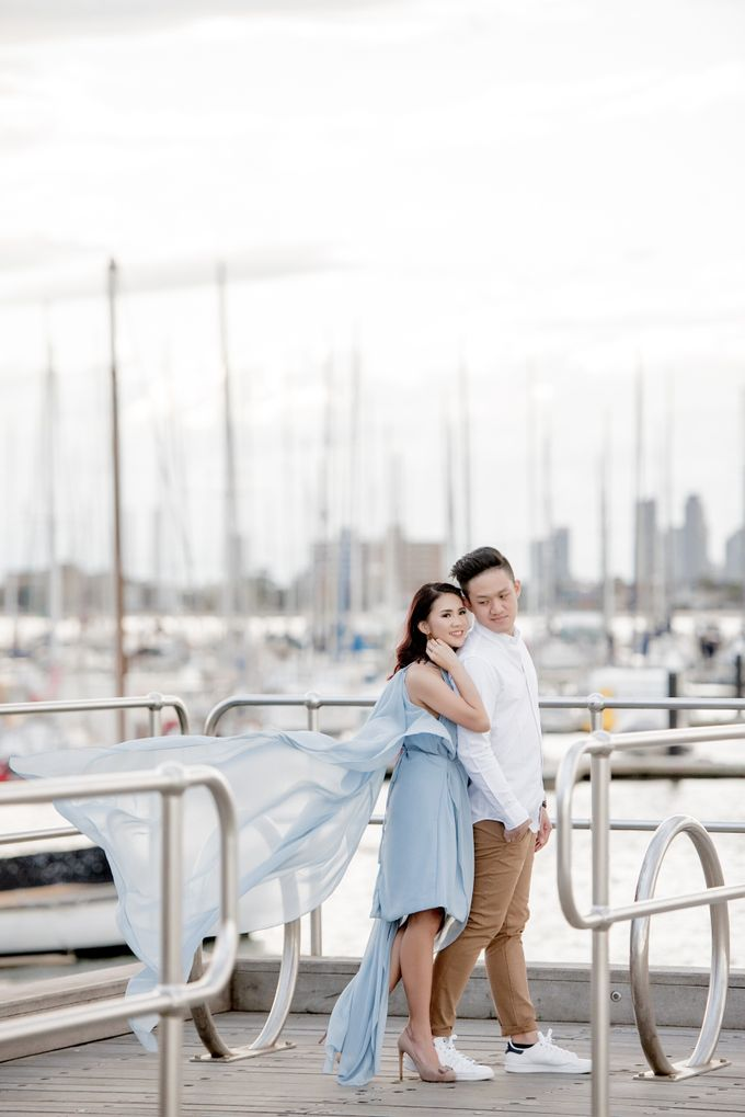 Melbourne Prewedding of Andre & Jeane by Kairos Works - 005