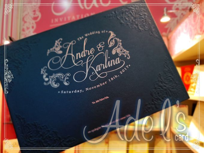 Two Pieces Hard Cover by Adel's House of card - 049