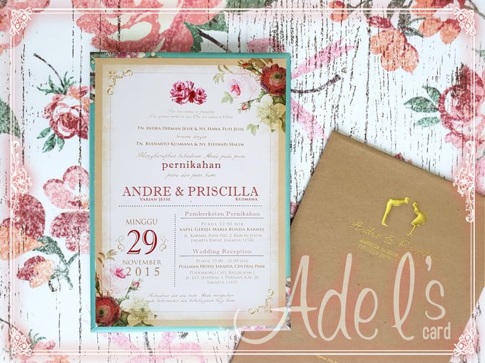 Hard Cover by Adel's House of card - 048
