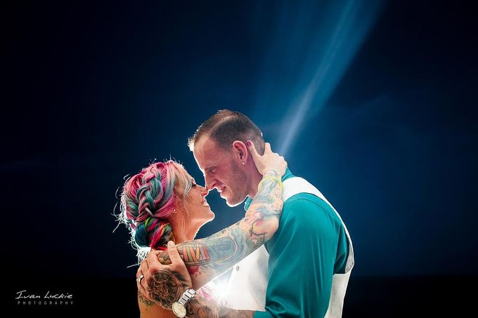 This was an amazing colorful wedding, starting from the bride, venue, and celebration by Ivan Luckie Photography - 017