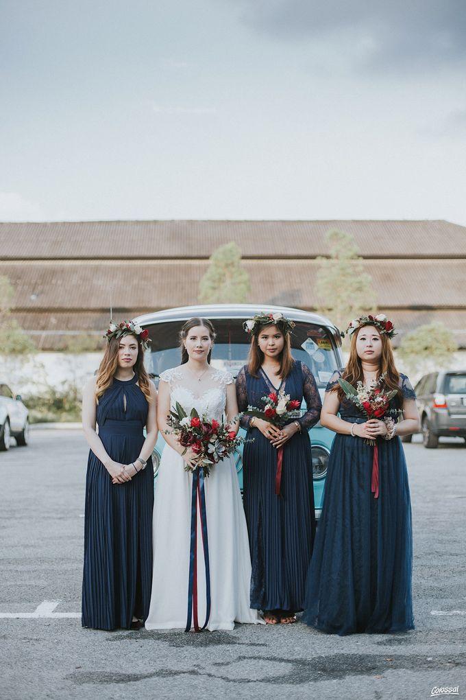 Bespoke wedding dress - Lace & Chiffon by Amperian - 007