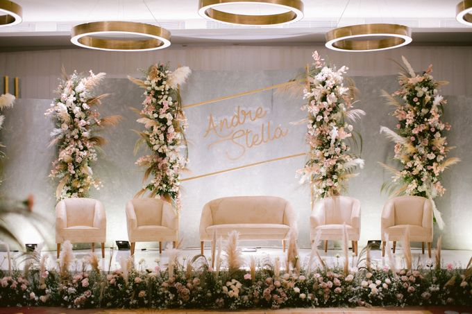 Wedding of  Andre and Stella by Holiday Inn & Suites Jakarta Gajah Mada - 013