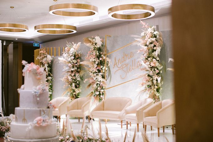Wedding of  Andre and Stella by Holiday Inn & Suites Jakarta Gajah Mada - 017