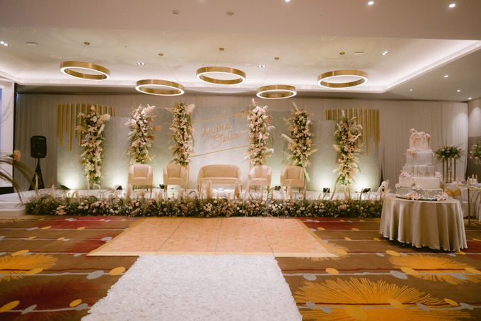 Wedding of  Andre and Stella by Holiday Inn & Suites Jakarta Gajah Mada - 020