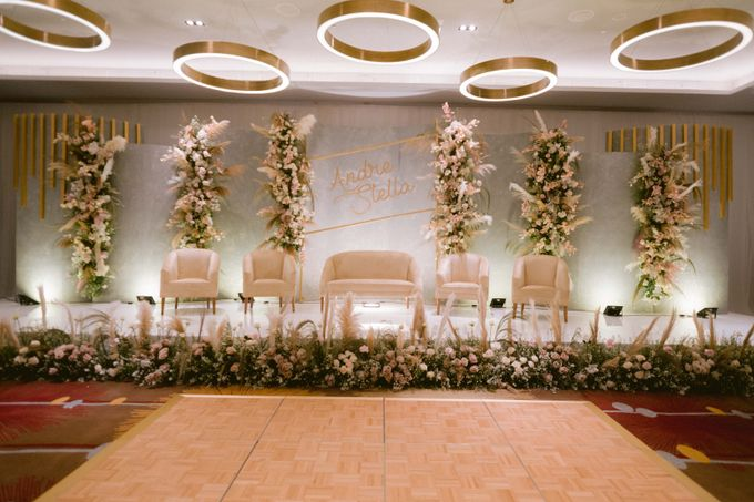 Wedding of  Andre and Stella by Holiday Inn & Suites Jakarta Gajah Mada - 021