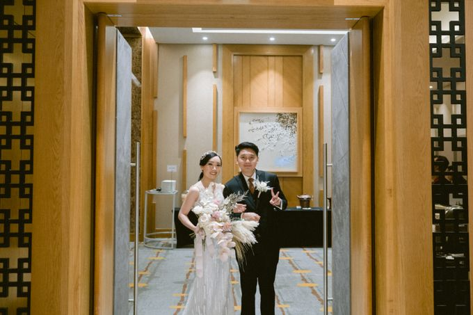 Wedding of  Andre and Stella by Holiday Inn & Suites Jakarta Gajah Mada - 029