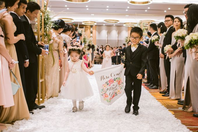 Wedding of  Andre and Stella by Holiday Inn & Suites Jakarta Gajah Mada - 034