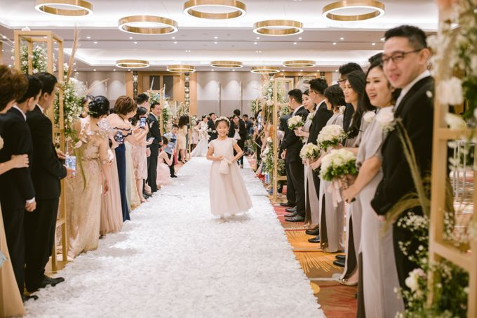 Wedding of  Andre and Stella by Holiday Inn & Suites Jakarta Gajah Mada - 035