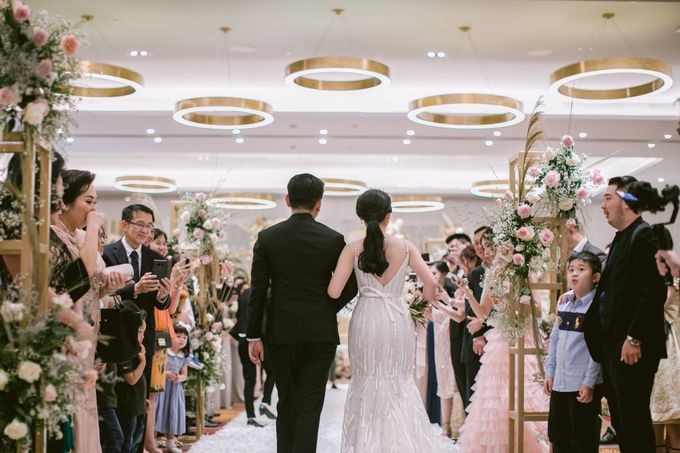 Wedding of  Andre and Stella by Holiday Inn & Suites Jakarta Gajah Mada - 036