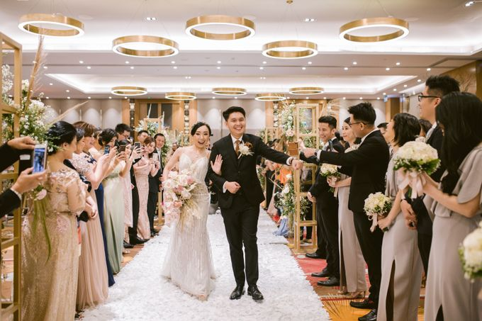 Wedding of  Andre and Stella by Holiday Inn & Suites Jakarta Gajah Mada - 037