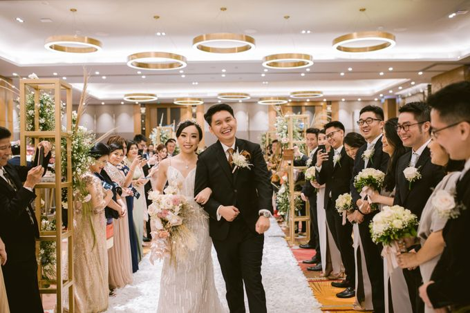 Wedding of  Andre and Stella by Holiday Inn & Suites Jakarta Gajah Mada - 038
