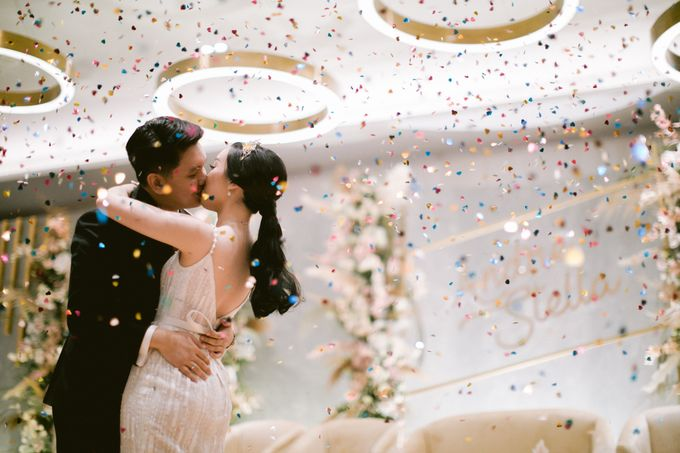 Wedding of  Andre and Stella by Holiday Inn & Suites Jakarta Gajah Mada - 046