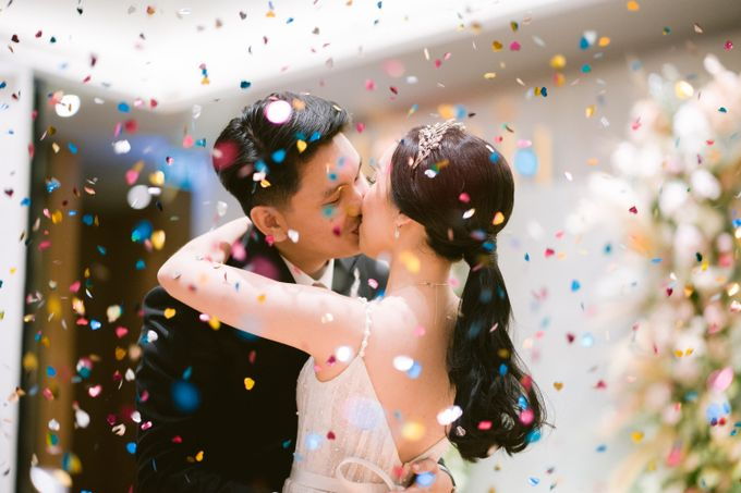 Wedding of  Andre and Stella by Holiday Inn & Suites Jakarta Gajah Mada - 048