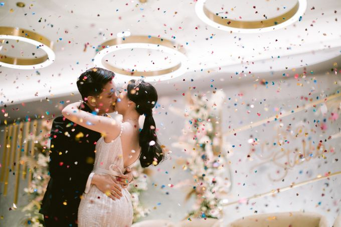 Wedding of  Andre and Stella by Holiday Inn & Suites Jakarta Gajah Mada - 049
