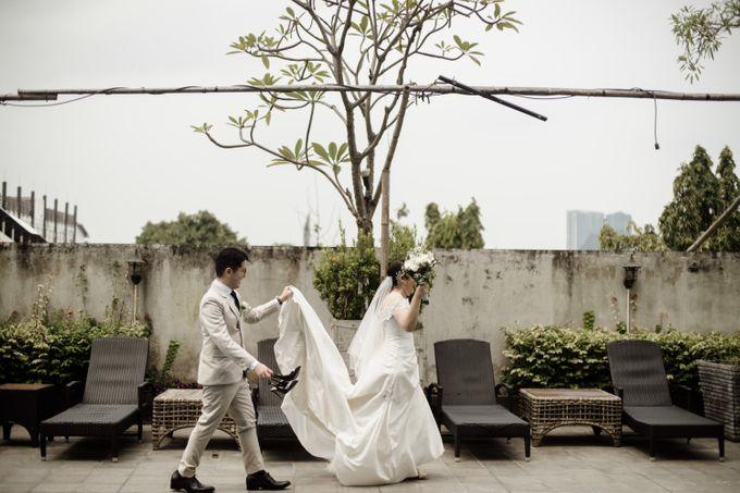 Andrew & Mercia Wedding at Whiz Prime Hotel Jakarta by AKSA Creative - 028
