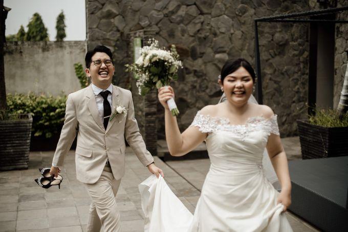 Andrew & Mercia Wedding at Whiz Prime Hotel Jakarta by AKSA Creative - 029